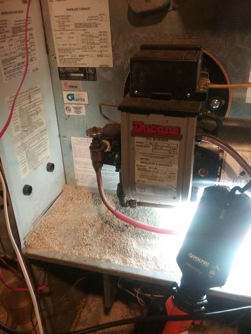 Leominster, MA - Ducane oil furnace service