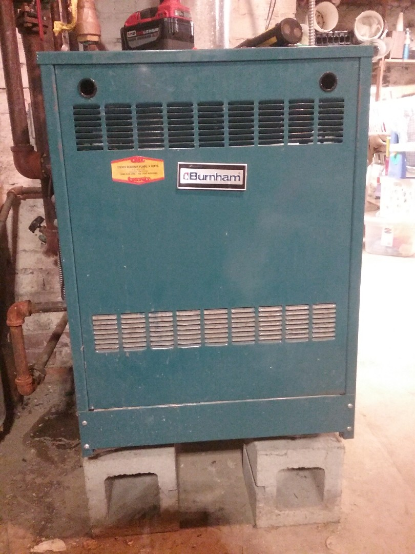 Shrewsbury, MA - Service of a burnham gas boiler