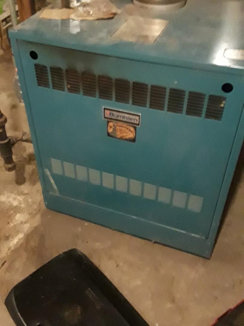 Fitchburg, MA - Heat repair on Burnham gas boiler