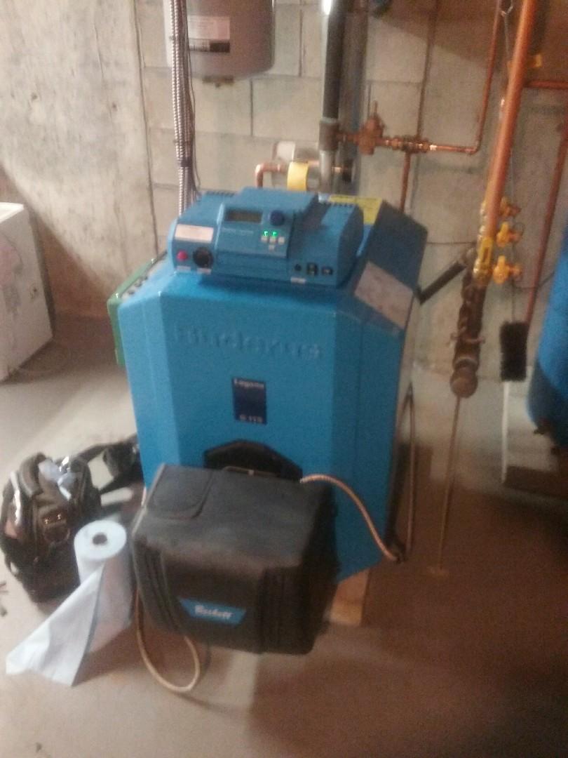 Holden, MA - Service of buderus oil boiler