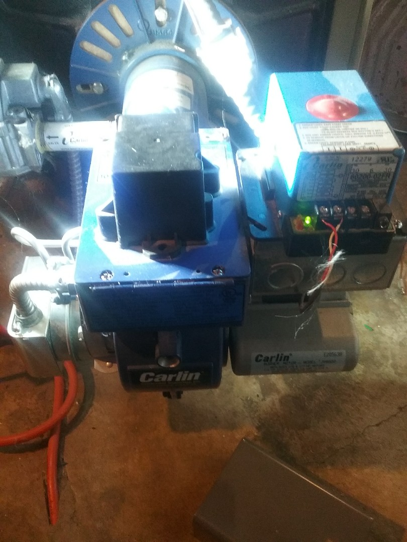 Millbury, MA - Service of a carlin gas conversion burner