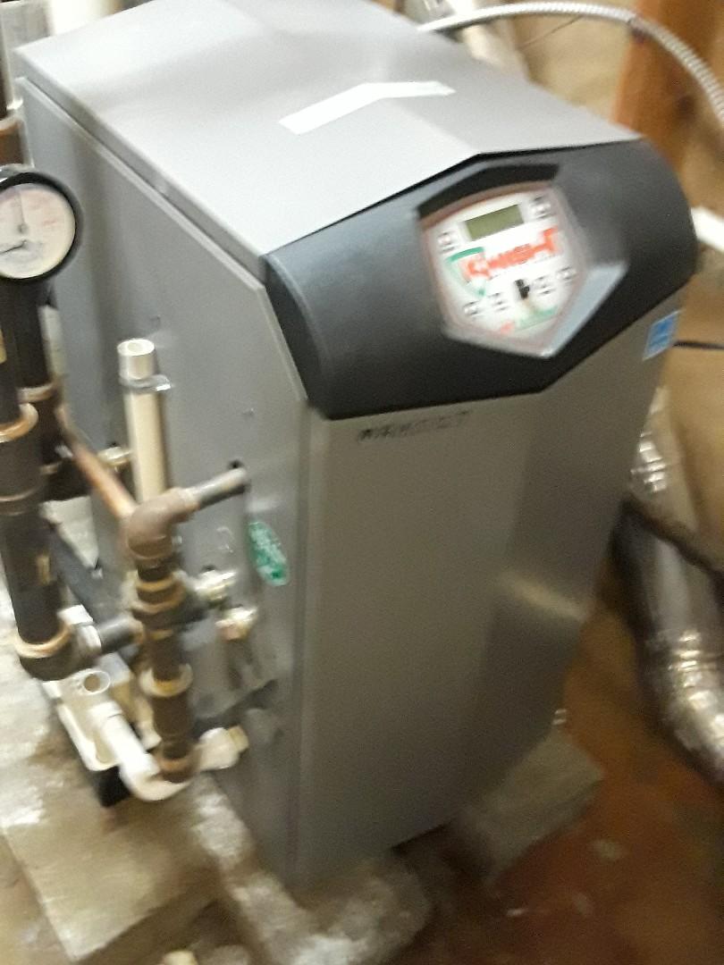 Ayer, MA - Heat repair on a Lochinvar gas boiler