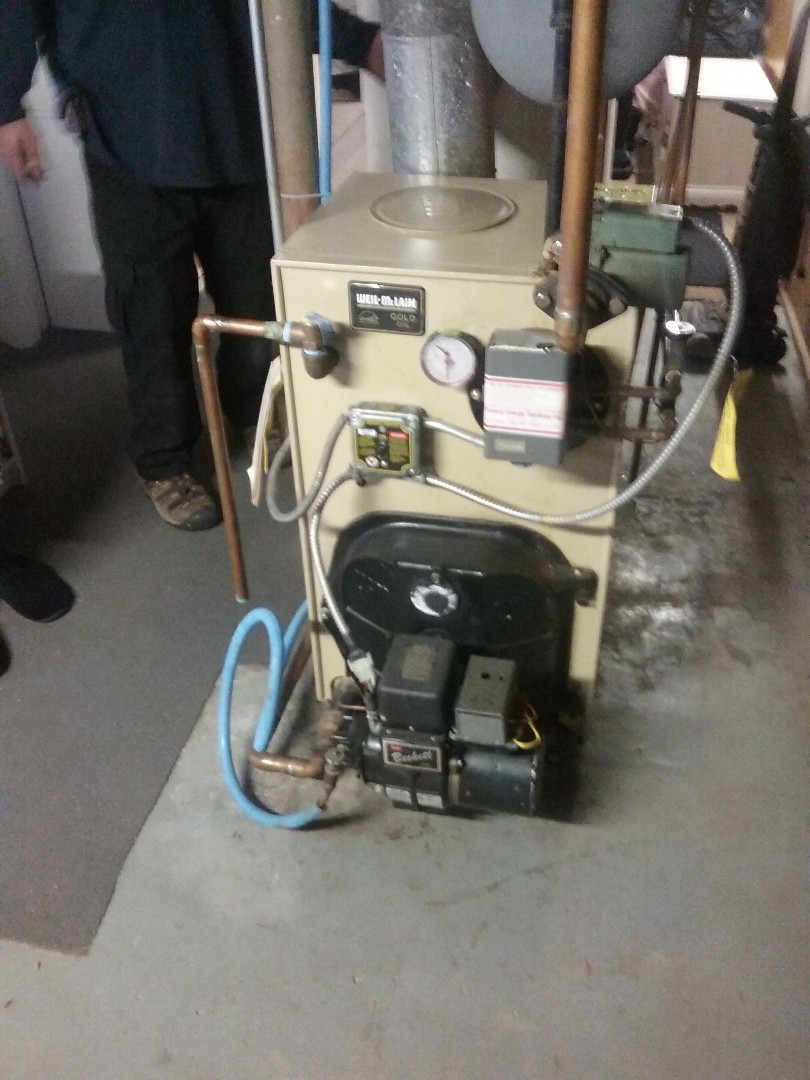 Natick, MA - Service of  a weil mclain oil boiler