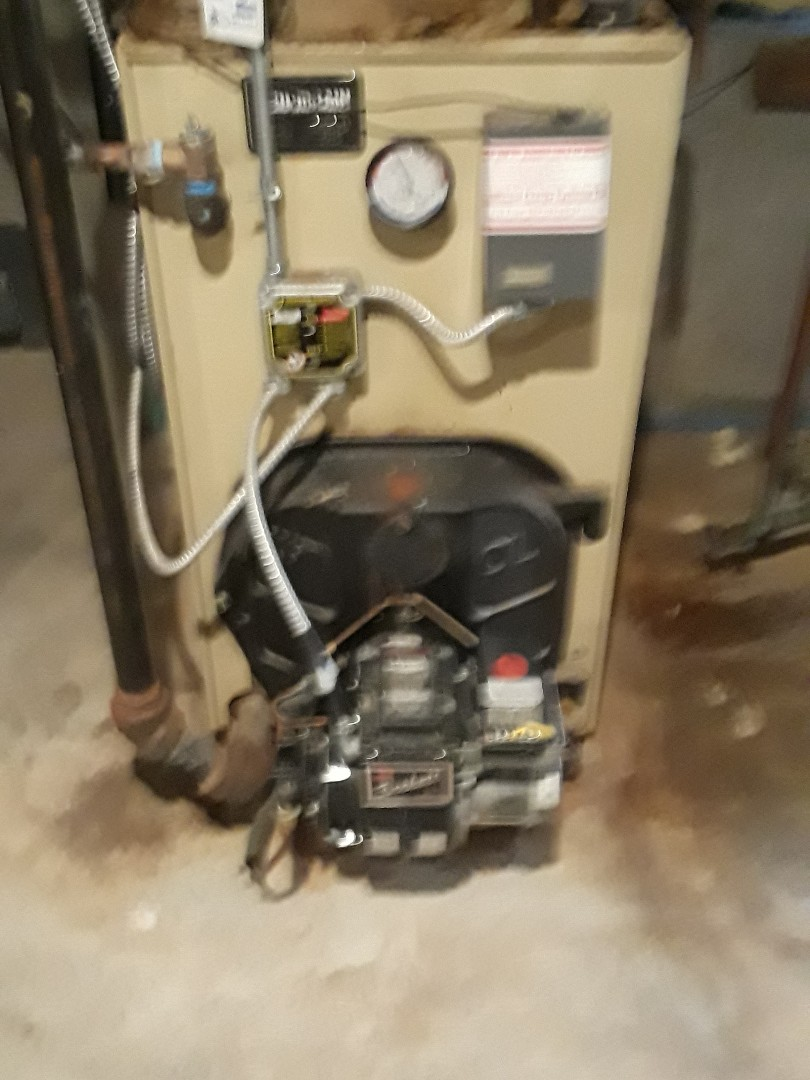 Lunenburg, MA - Extrol Tank replacement on a Weil Mclain oil fired boiler