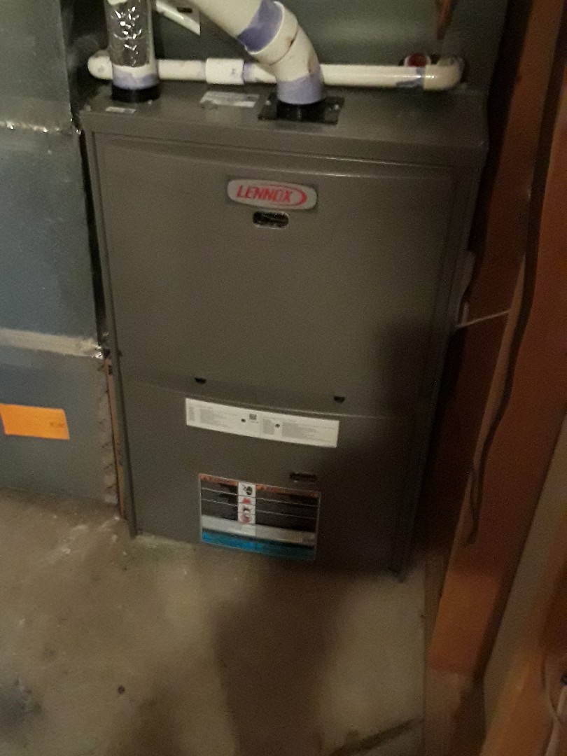 Millbury, MA - Clean and Gas Heating and AC Unit