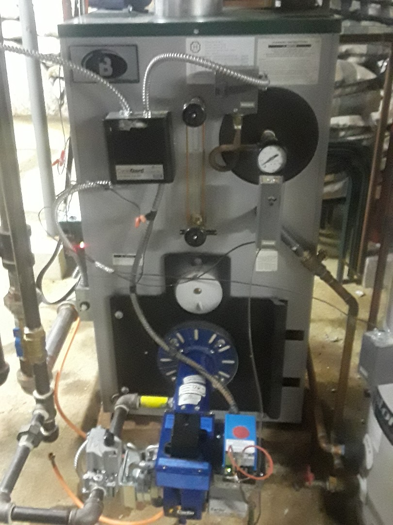 Fitchburg, MA - Clean and check Peerless gas steam boiler