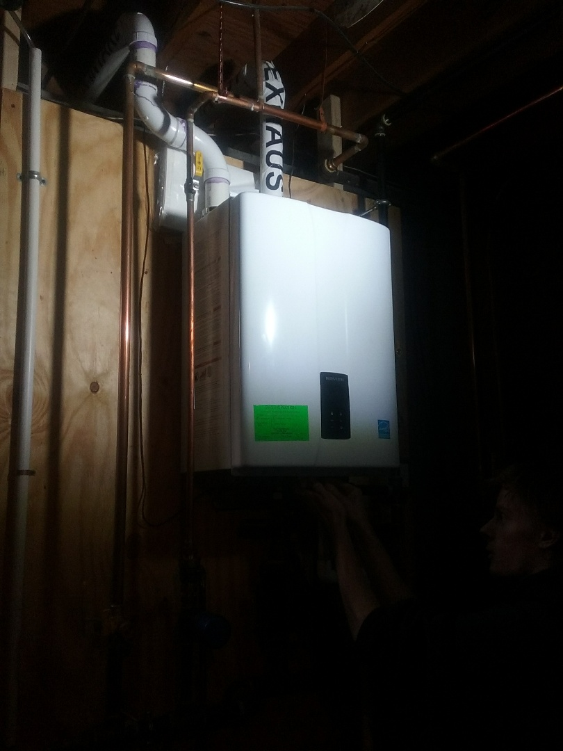 Millbury, MA - Preventive maintenance of a navien gas boiler