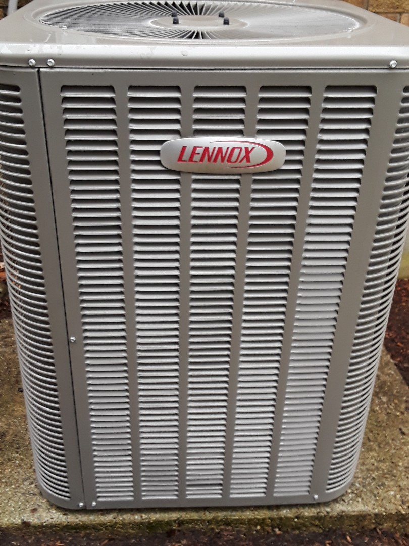 Westborough, MA - Clean and check Lennox AC Unit