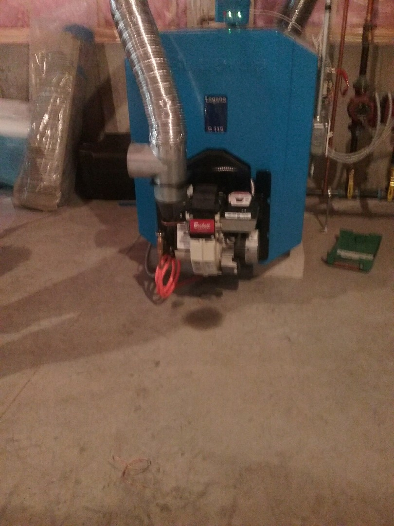 Leominster, MA - Service of a buderus oil boiler
