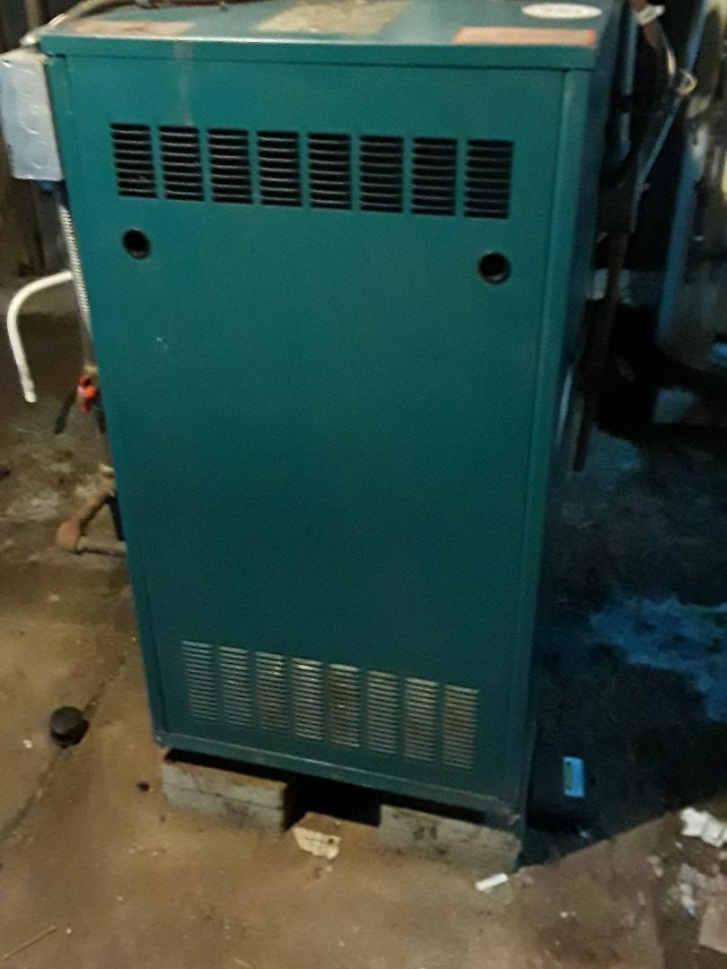 Worcester, MA - Heat repair on a Burnham gas team boiler