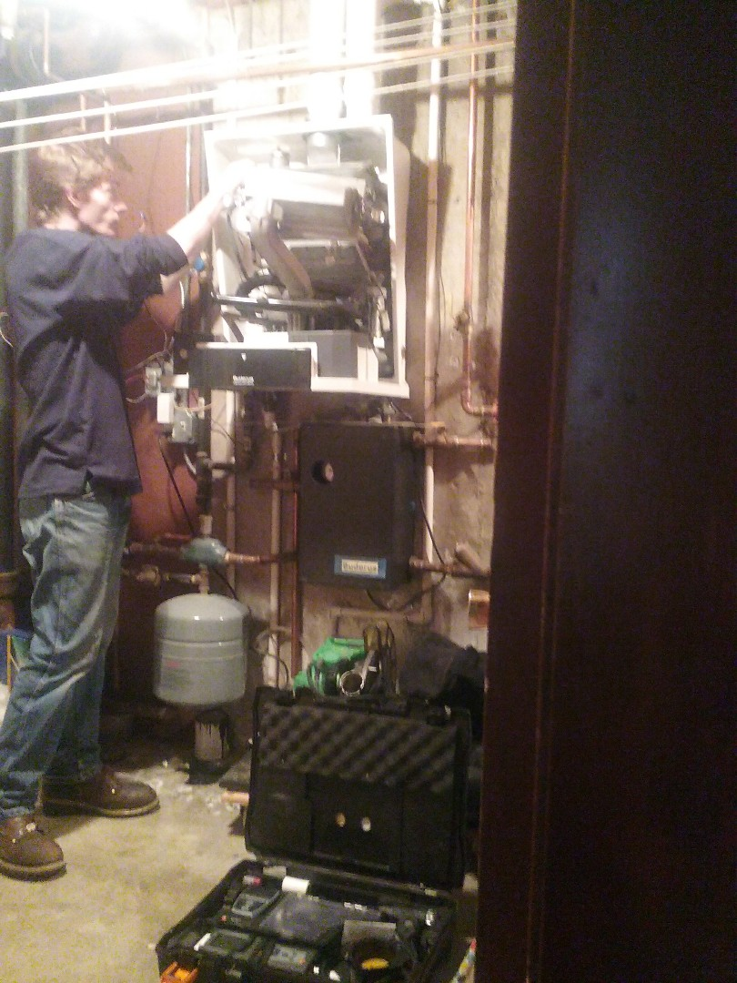 Worcester, MA - Service of a buderus boiler