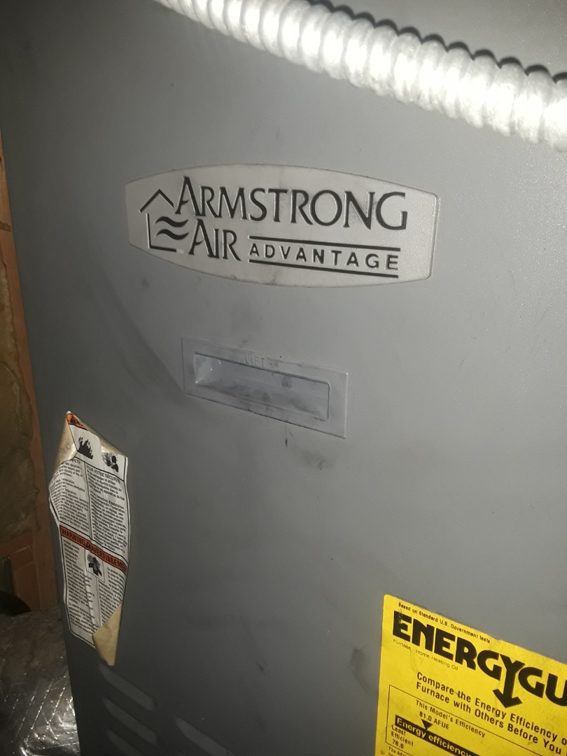 Fitchburg, MA - Clean and Check Armstrong oil and AC units