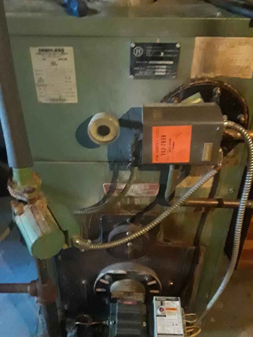 Fitchburg, MA - Heat repair on a Peerless JOT oil boiler