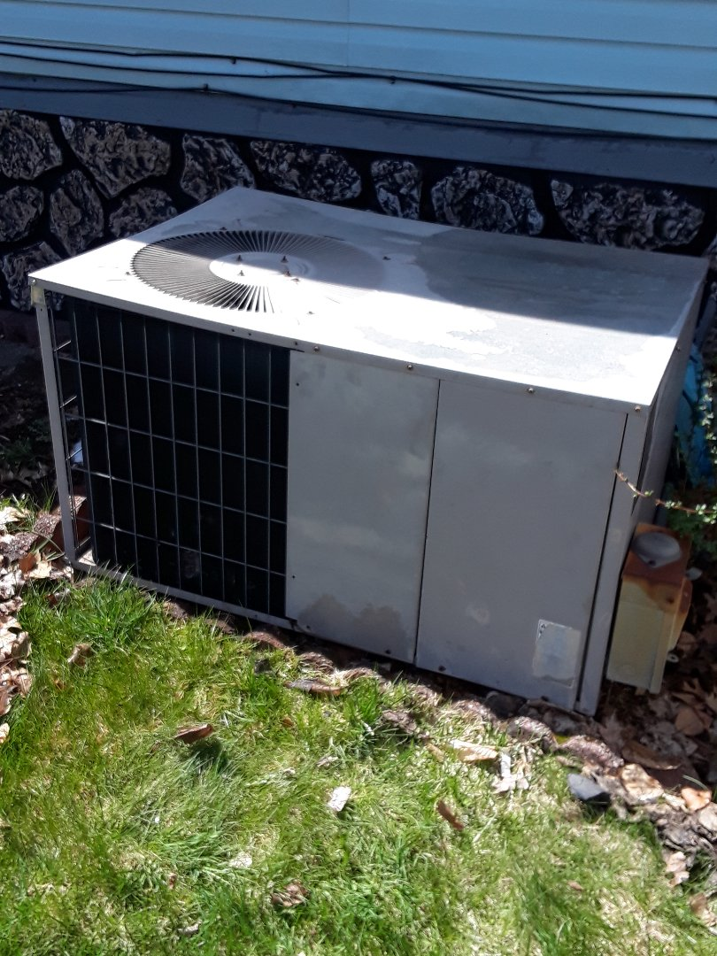 Gardner, MA - Clean and check Miller AC unit