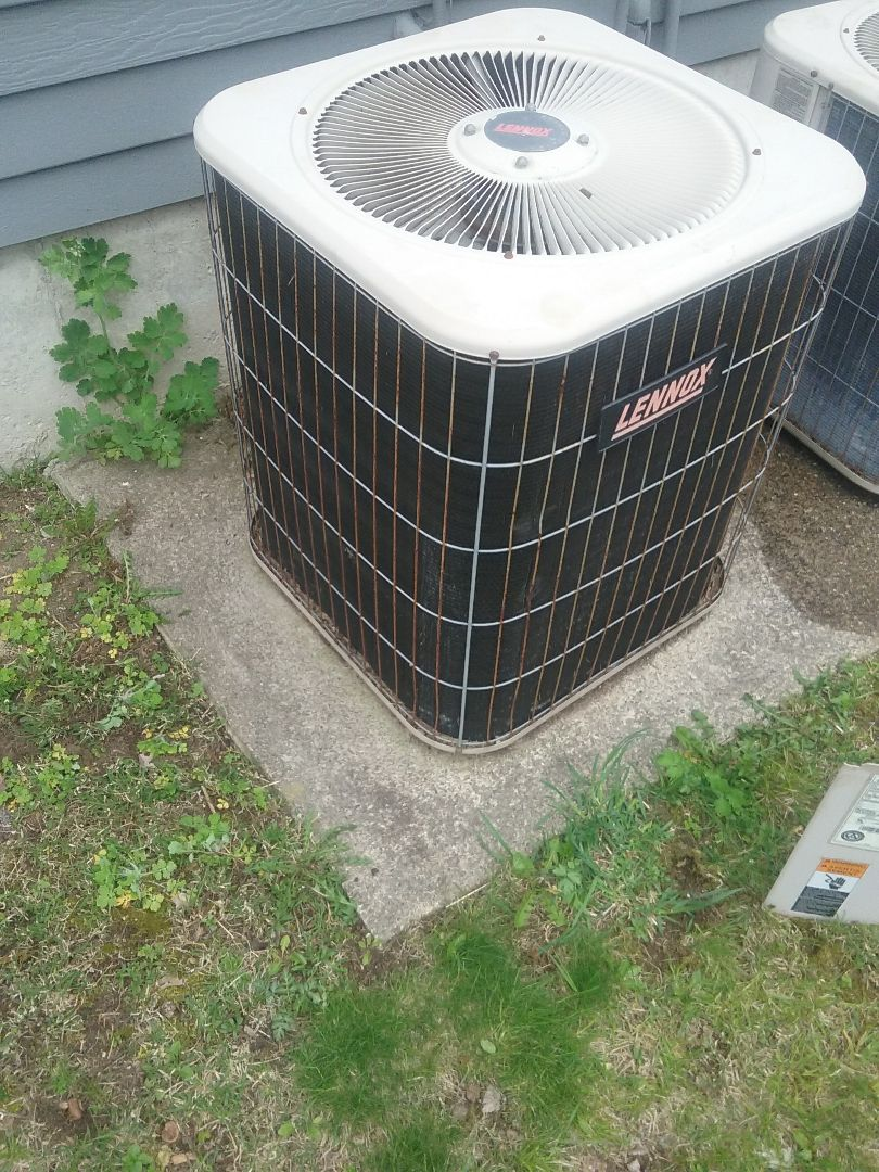 Northborough, MA - Service of a lennox air conditioner