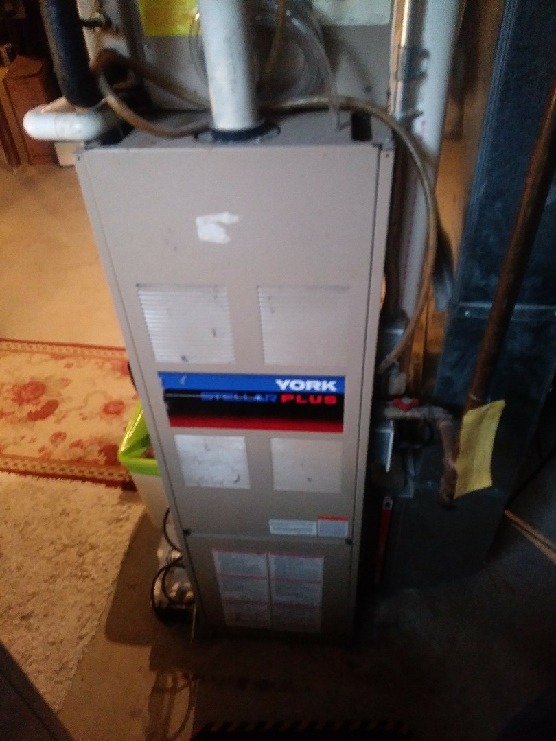 Hopkinton, MA - Clean and check on York heating and a/c system