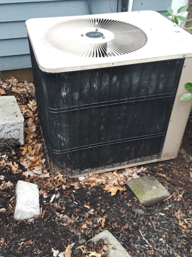 Shrewsbury, MA - AC repair on a Ducane unit