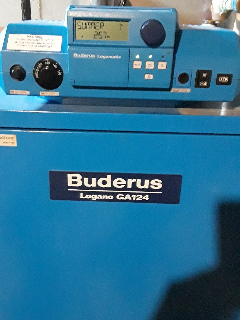 Fitchburg, MA - No hot water repair on a Buderus gas boiler