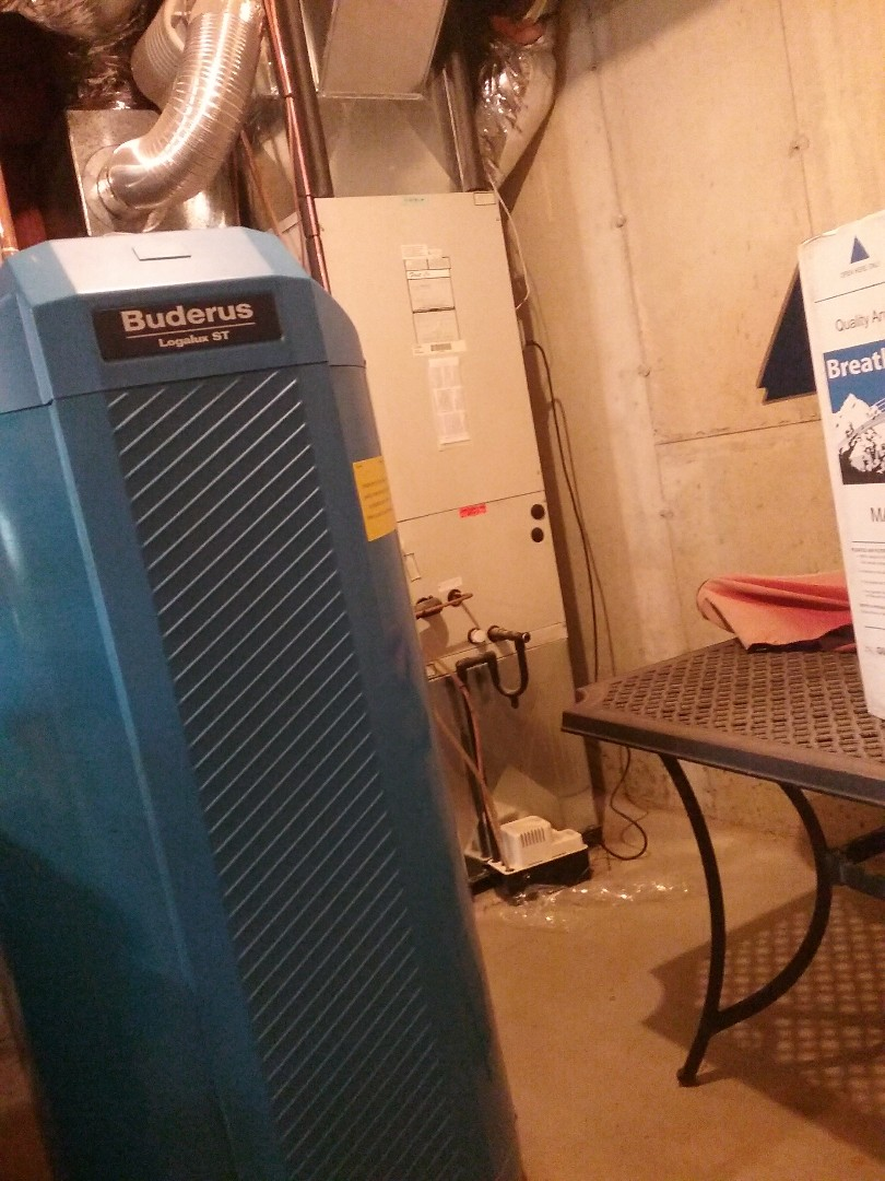 Holland, MA - Service of a first company hydro air system