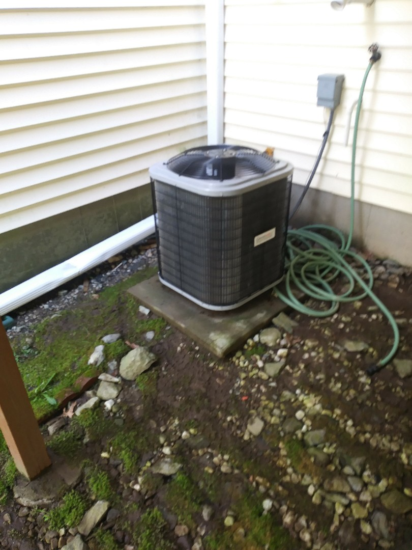 Sutton, MA - Cleaning coils on grandaire a/c system