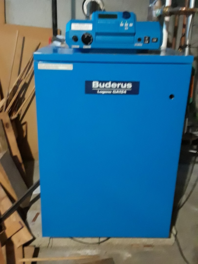 Fitchburg, MA - No hot water repair on Buderus gas boiler