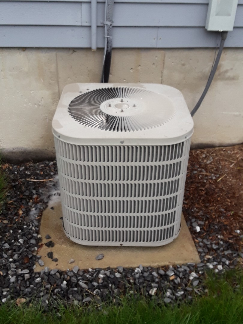 Grafton, MA - Clean and check Goodman AC unit