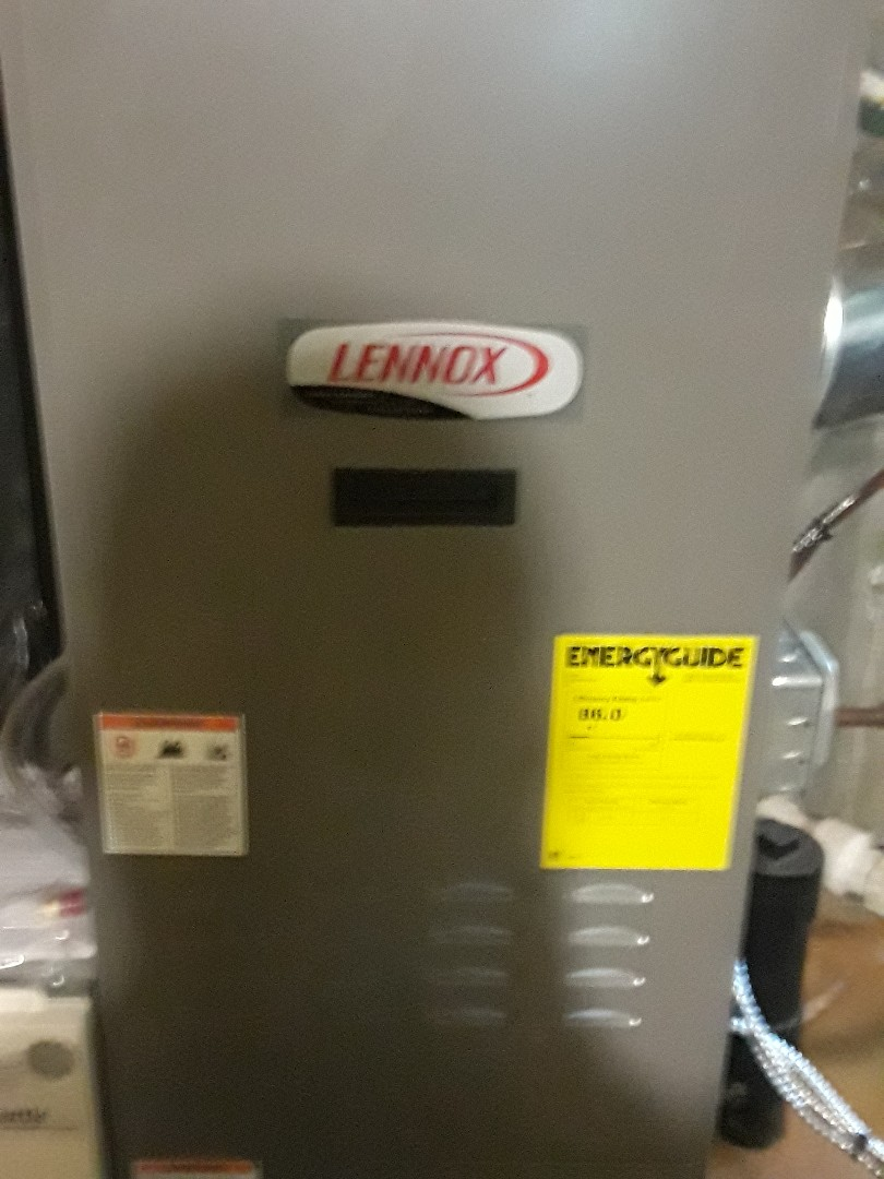 Spencer, MA - Clean and check Lennox oil furnace