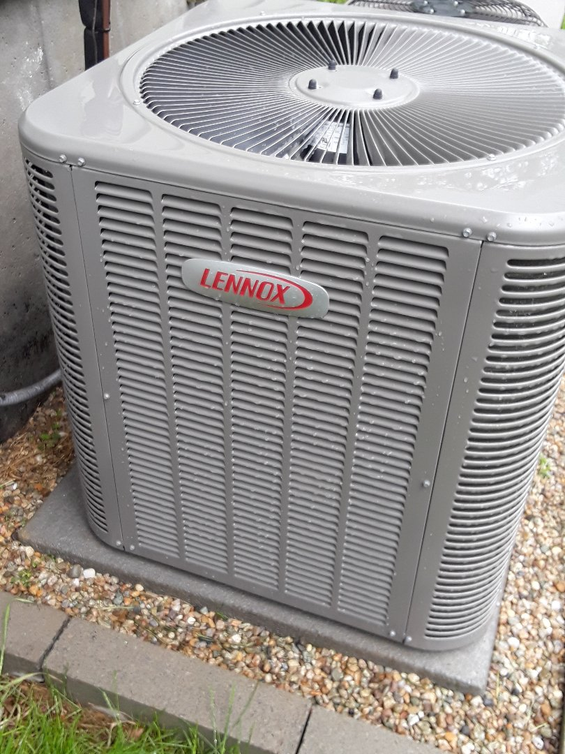 Lancaster, MA - Clean and check Lennox AC unit