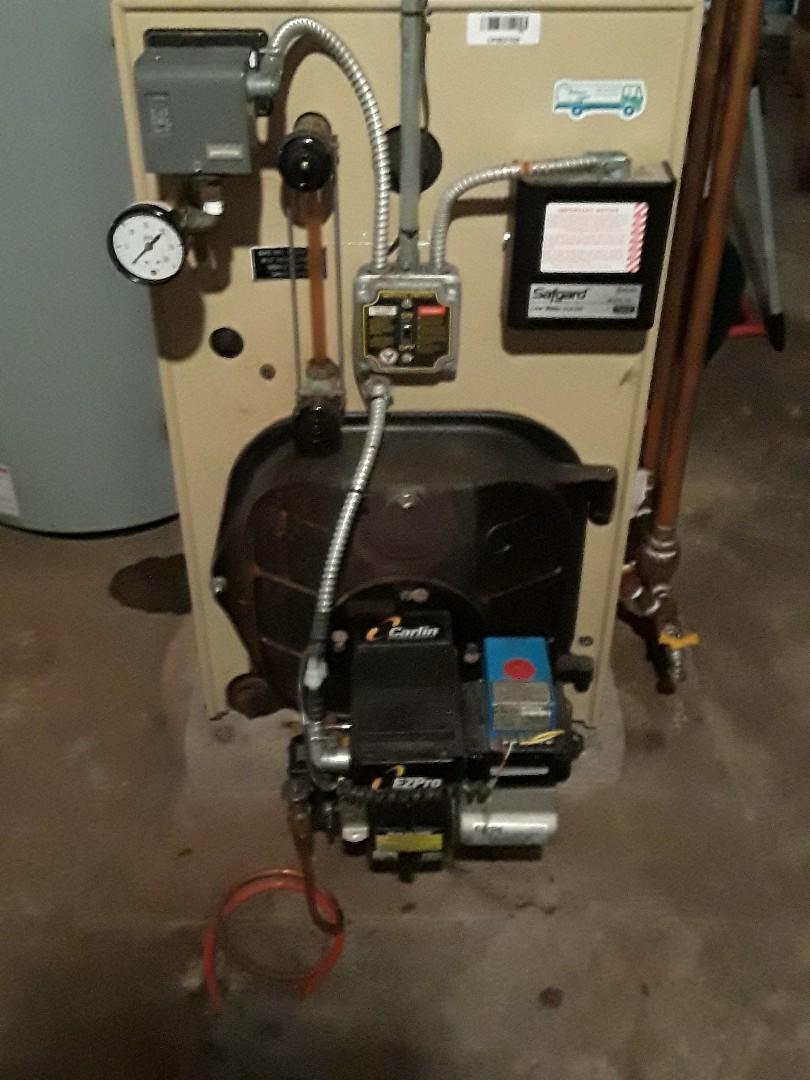 Marlborough, MA - Clean and check Weil Mclain oil boiler