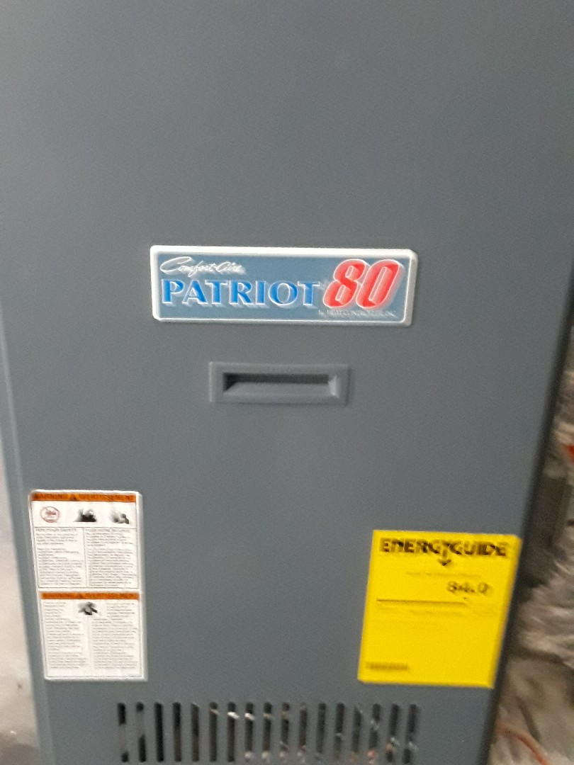 Fitchburg, MA - Clean and Check Comfort Aire Oil heating unit
