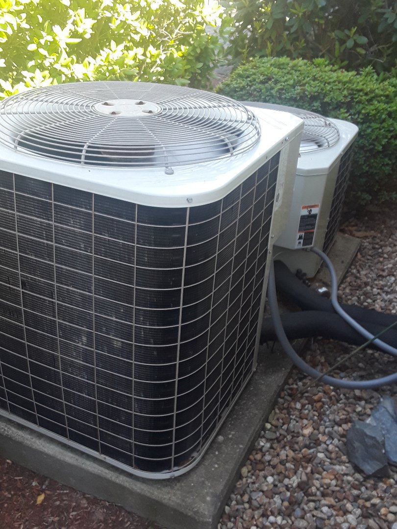 Leominster, MA - AC repair on a Bryant unit