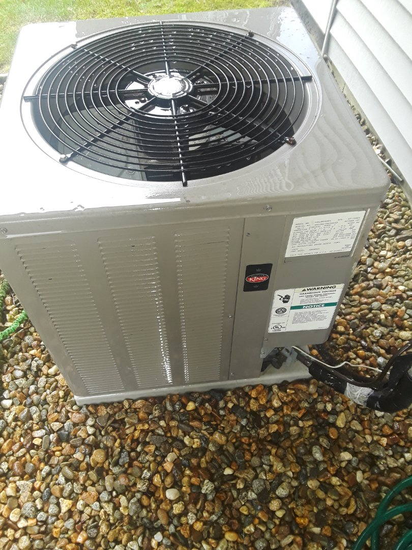 Fitchburg, MA - Clean and check Weather King AC unit