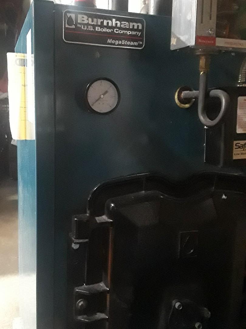 Fitchburg, MA - Heat repair on Burnham oil boiler