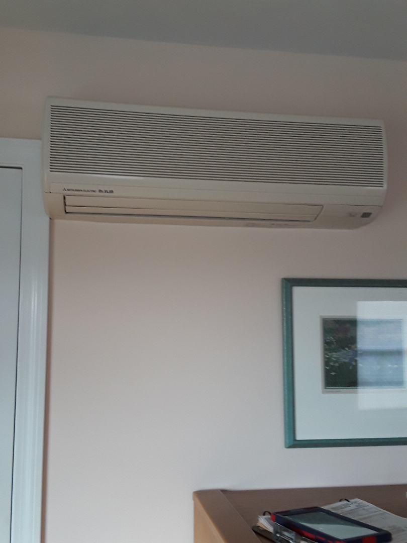 Sterling, MA - Clean and check Mitsubishi Mini Split system