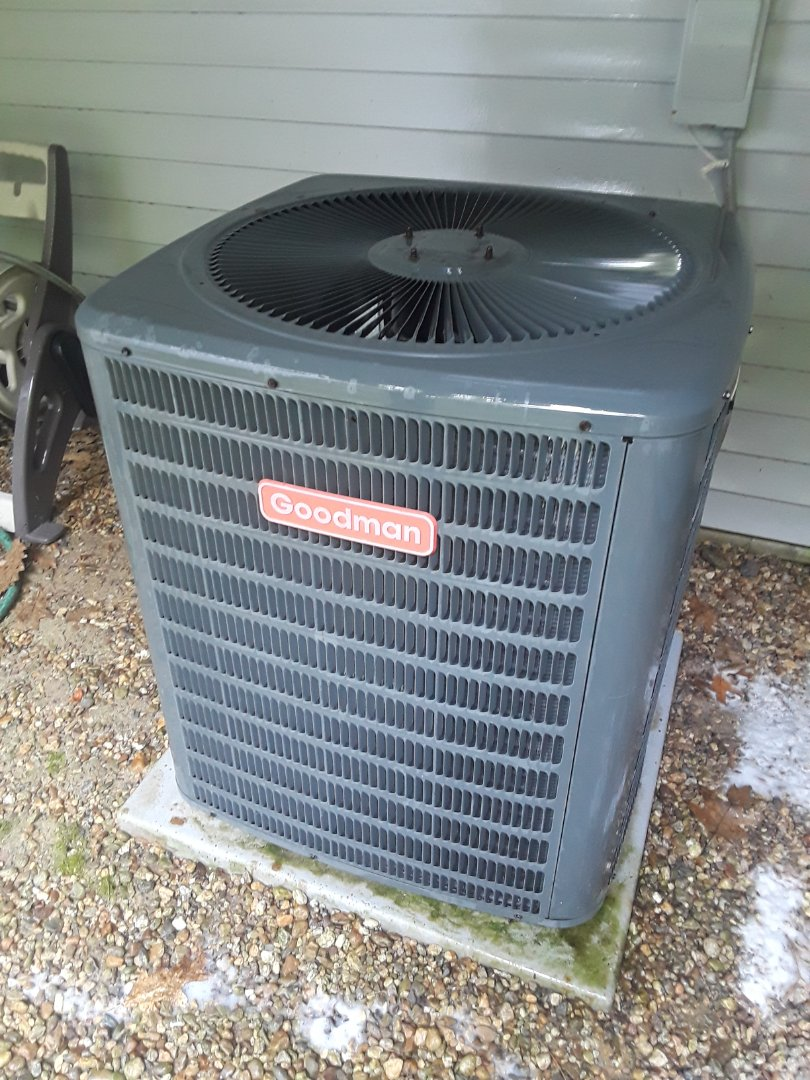 Fitchburg, MA - Clean and check Goodman AC unit