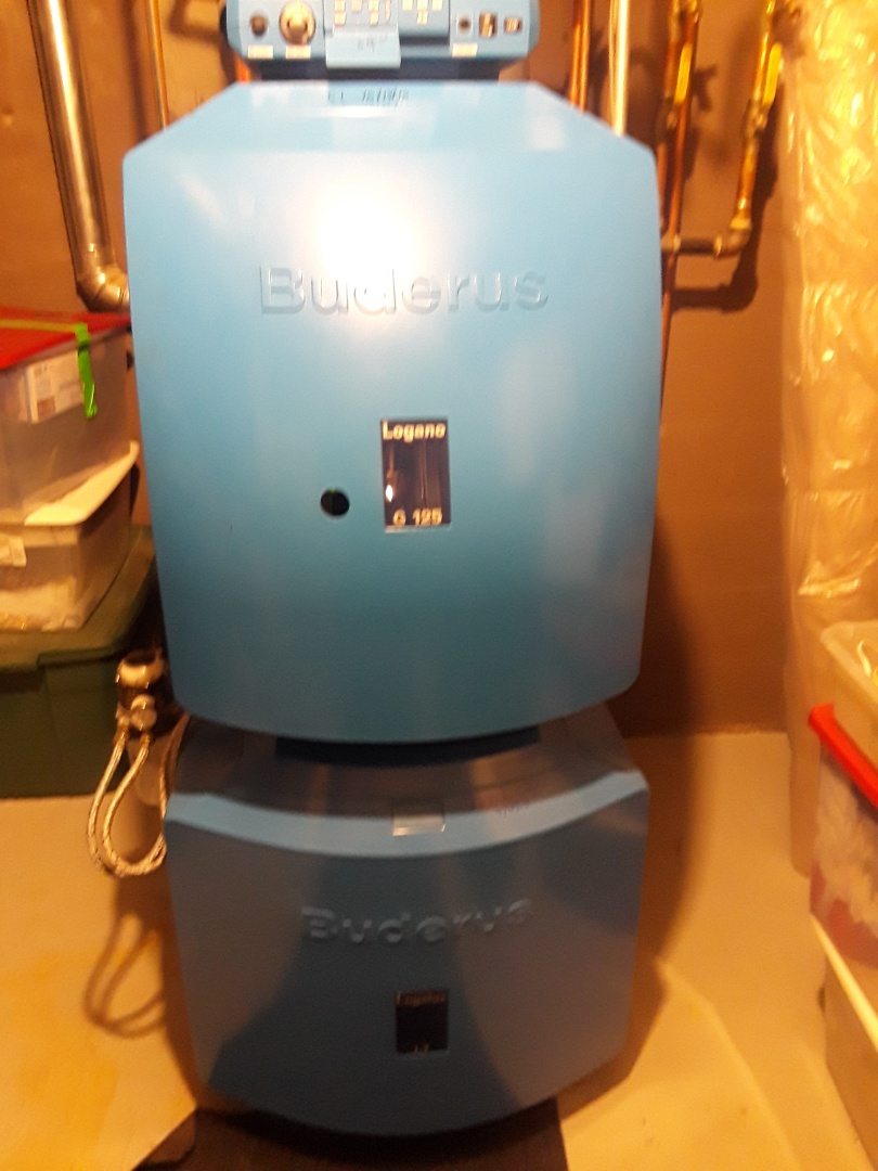 Shirley, MA - Clean and check Buderus boiler