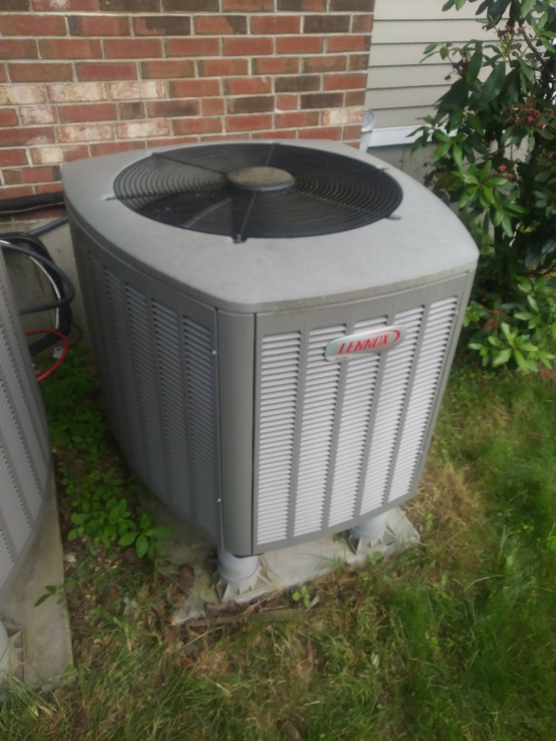 Westborough, MA - Repairing a refrigerant leak on a lennox air conditioning system