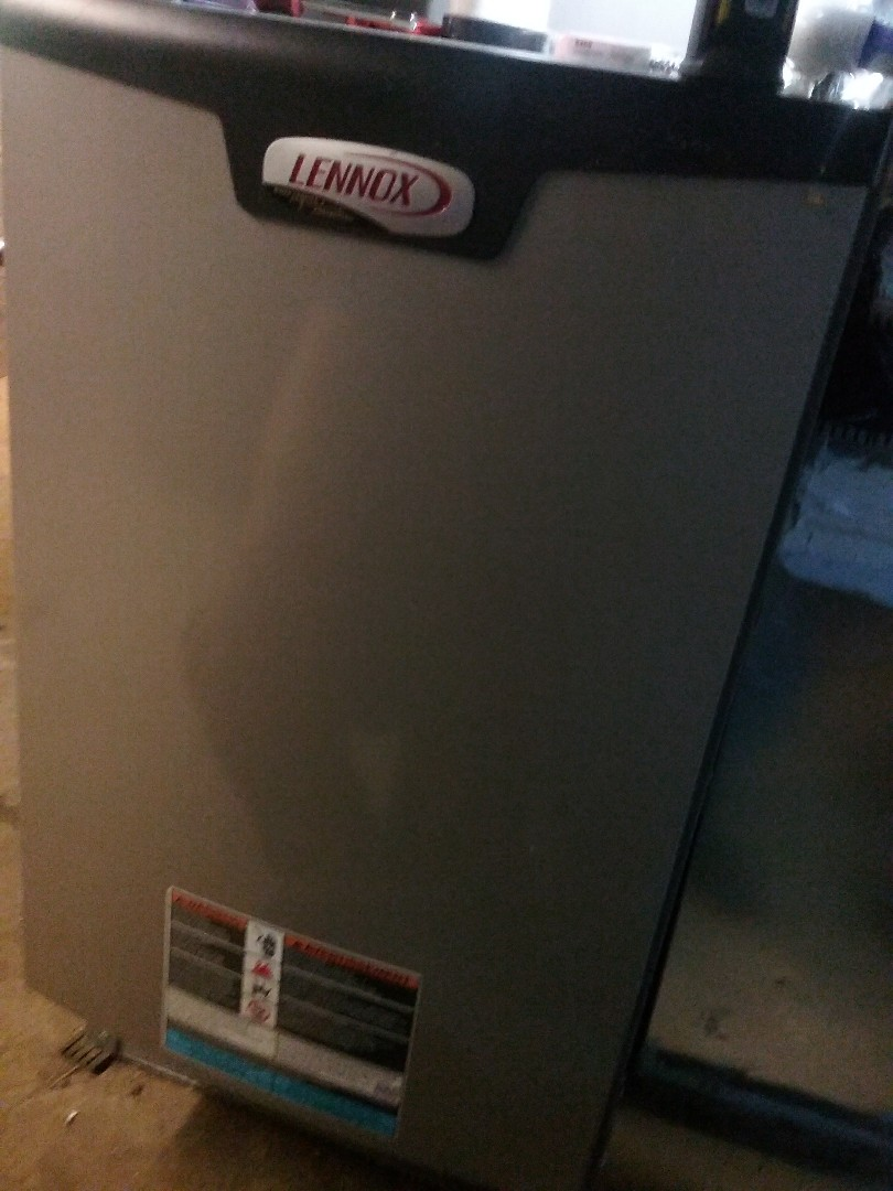 Northborough, MA - Service of a lennox propane furnace