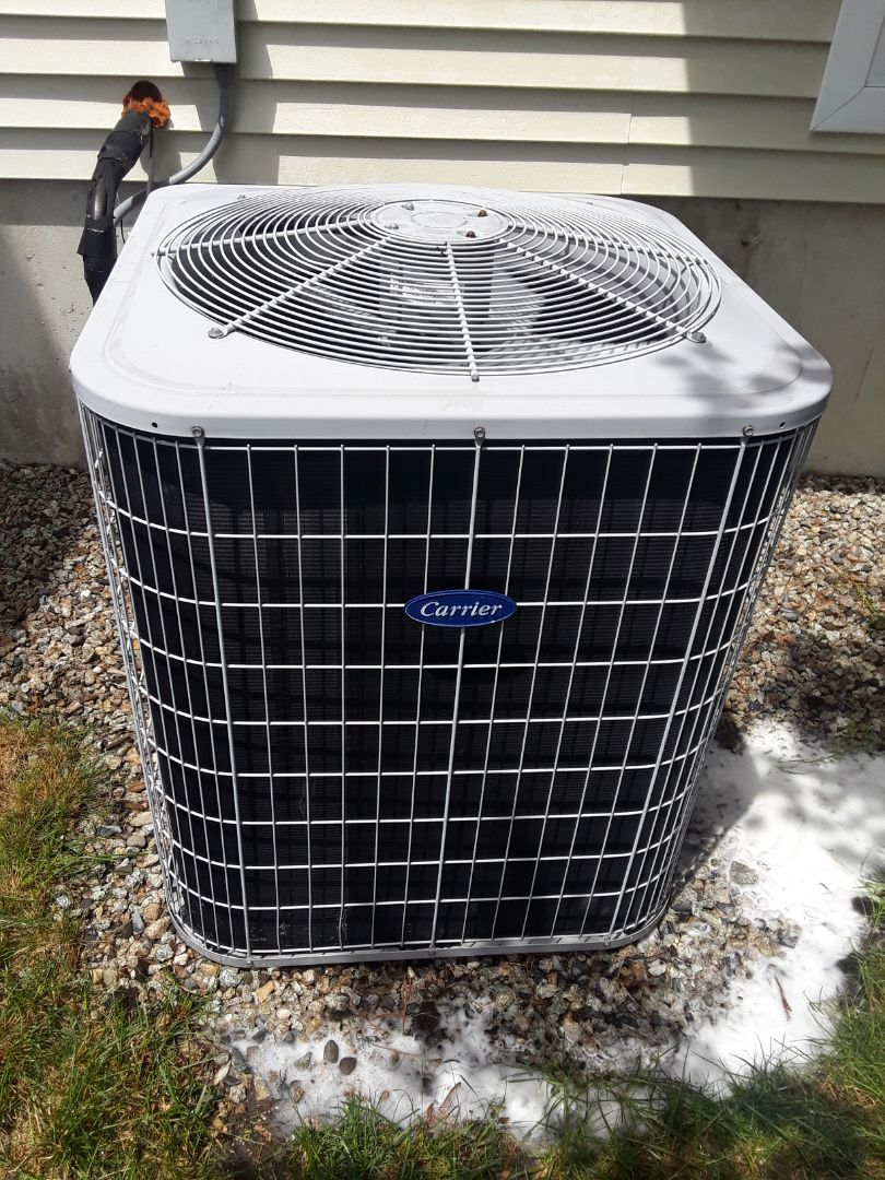 Holden, MA - Clean and check Carrier AC unit