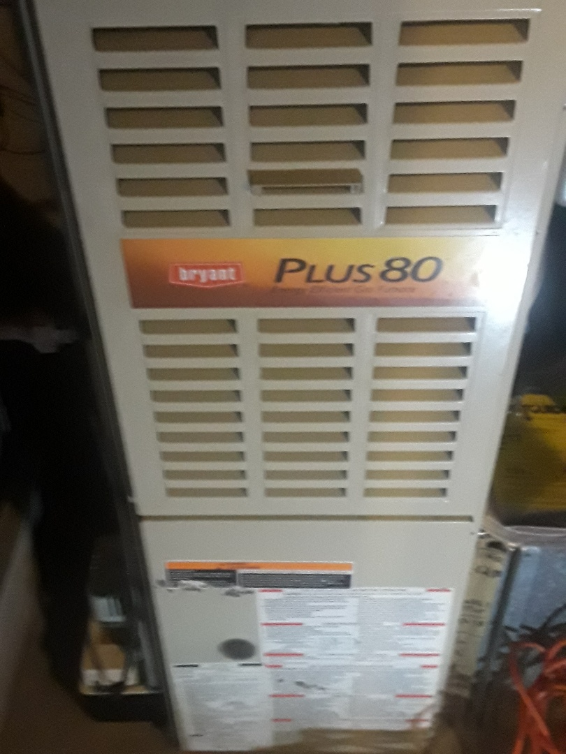 Leominster, MA - Clean and check Bryant gas furnace