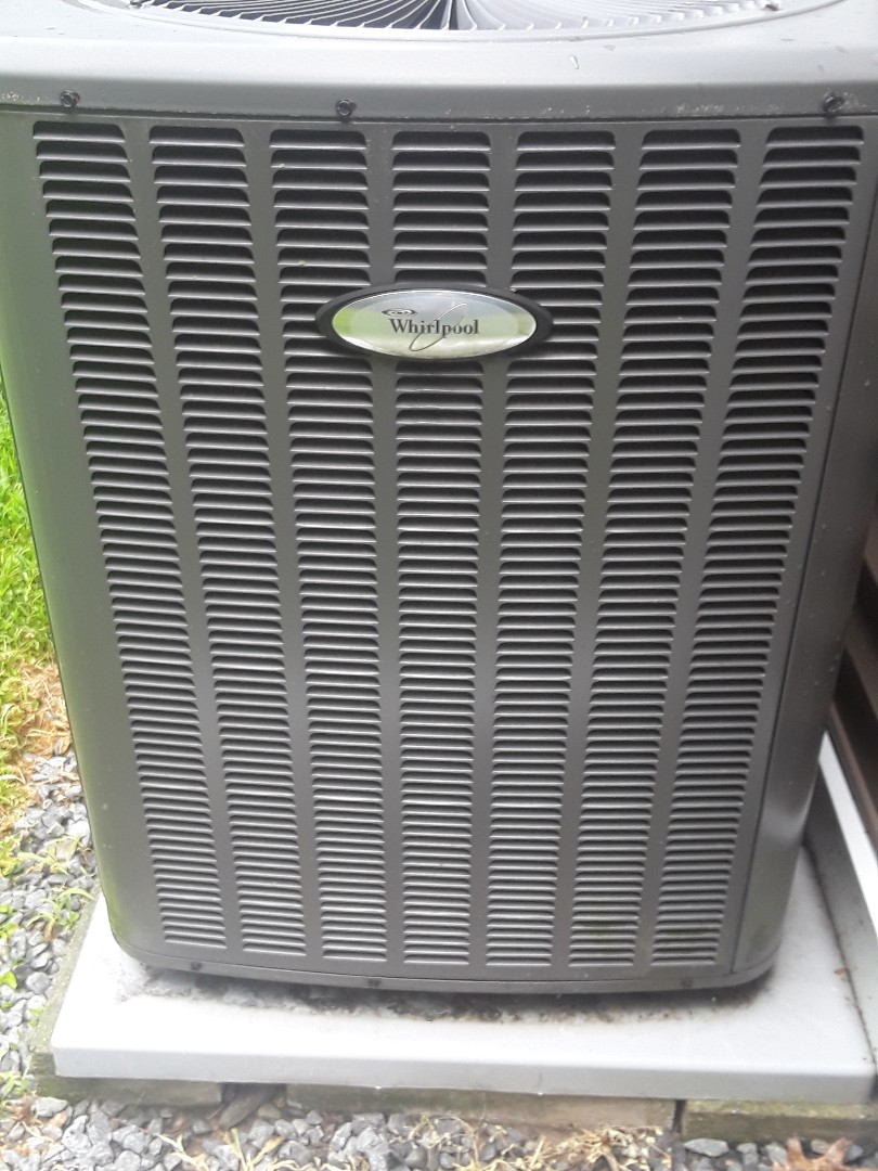 Leominster, MA - Repair on a Whirlpool AC unit