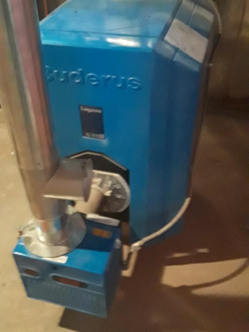Leominster, MA - Repair on Buderus oil boiler