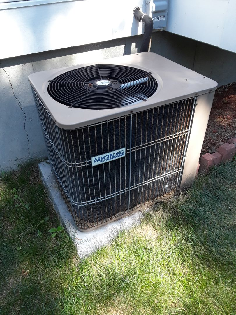 Oxford, MA - Repair on Armstrong AC unit