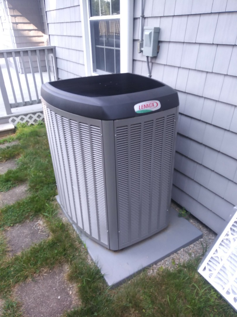 Southbridge, MA - Performing clean and check on lennox air conditioning system