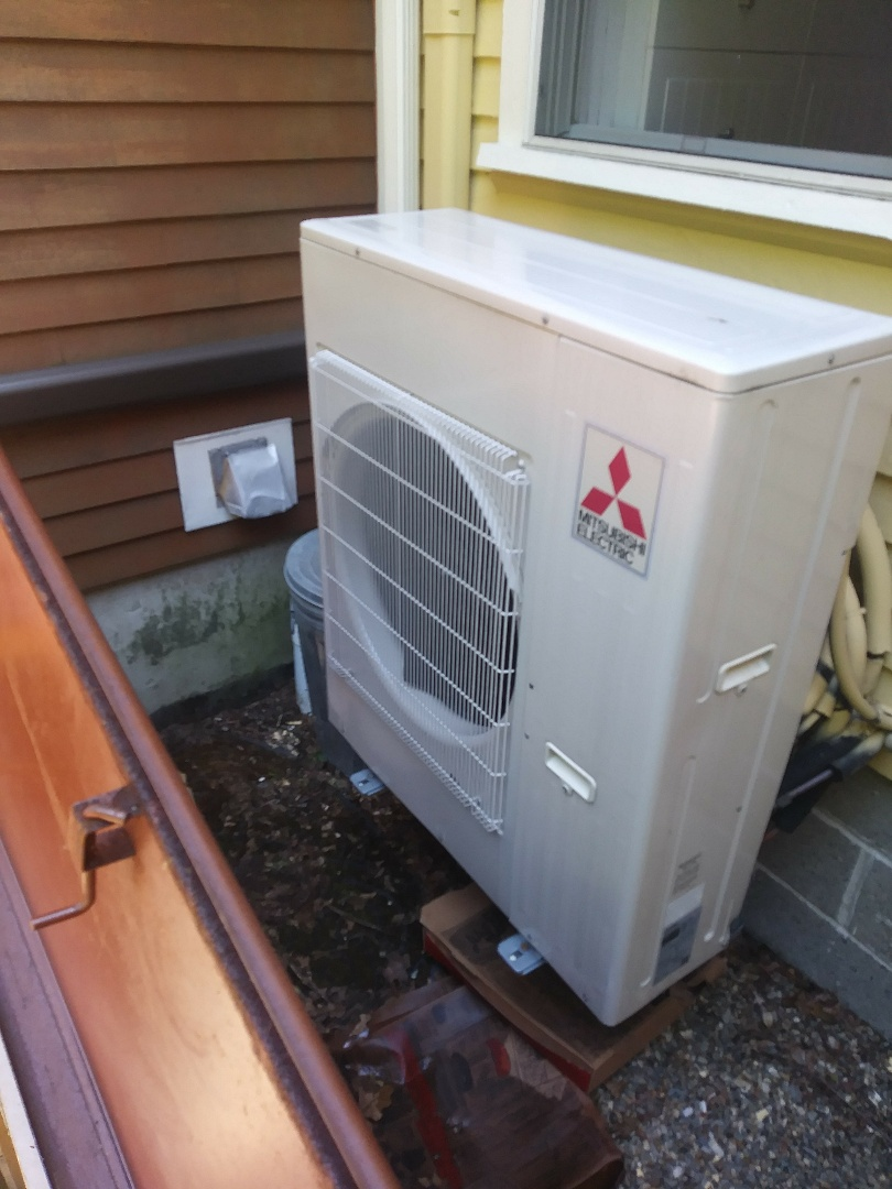 Millbury, MA - Repairing leaky flares on Mitsubishi ductless mini-split