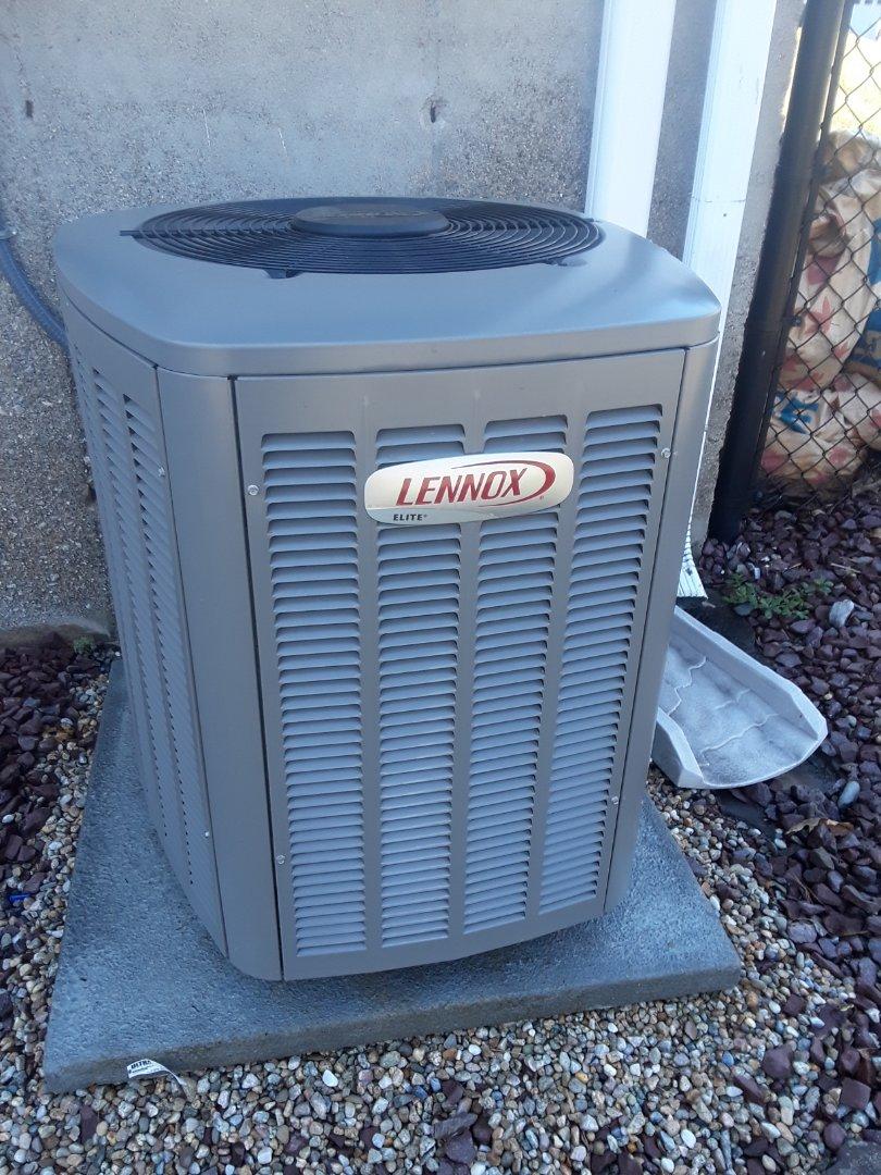 Shrewsbury, MA - Clean check Lennox AC unit