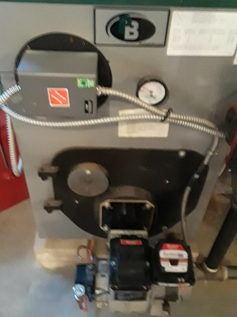 Leominster, MA - Repair on a Peerless oil boiler