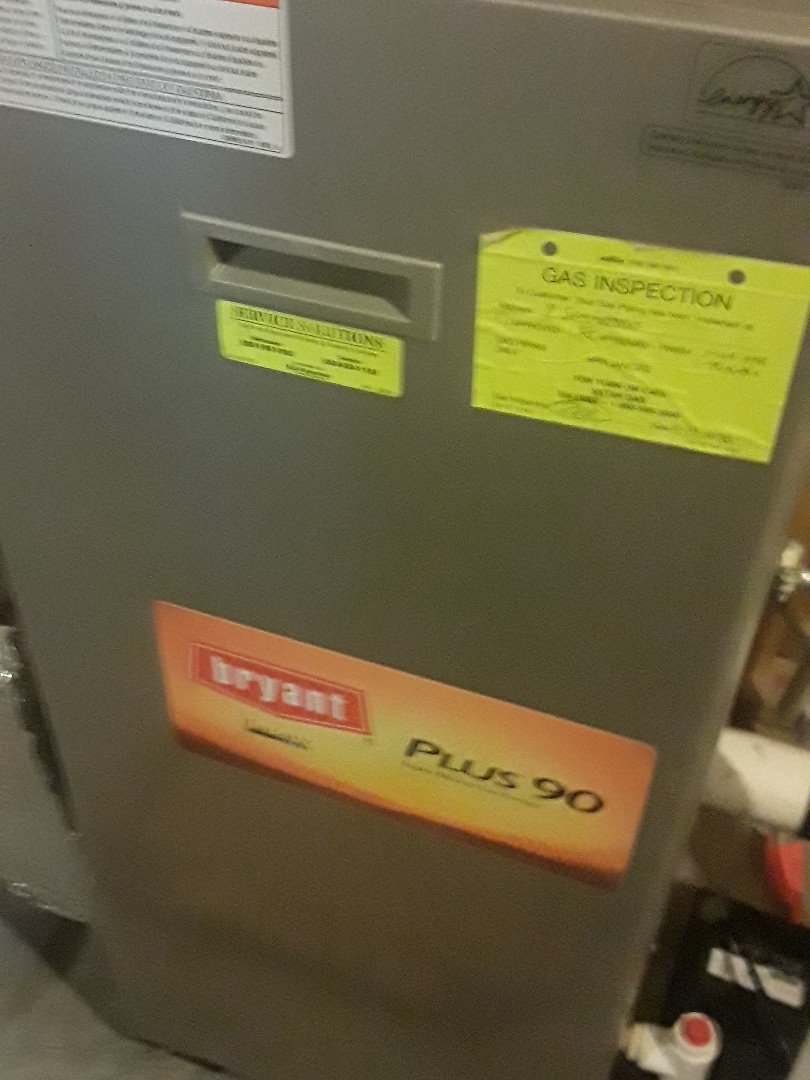 Grafton, MA - Clean and check Bryant gas furnace