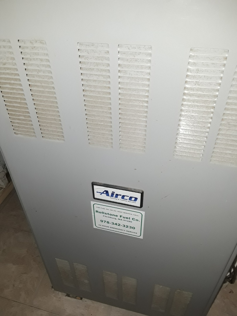 Leominster, MA - Replacing blower motor on Airco oil furnace