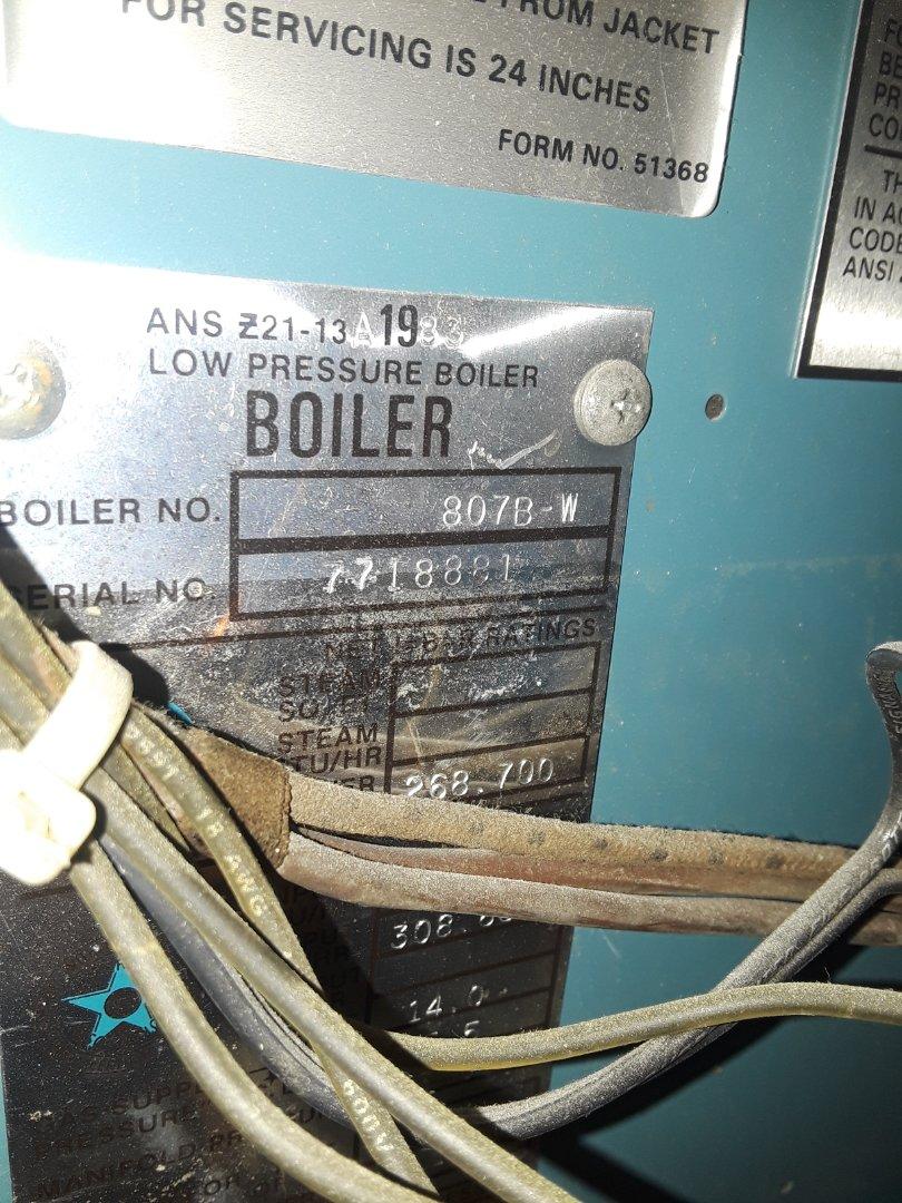 Worcester, MA - Clean and check Burnham gas boiler